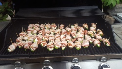 Jalepeno car bombs for game day