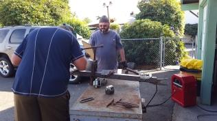 Dad's welding
